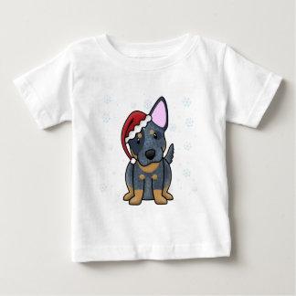 Christmas Kawaii Blue Heeler Baby's Tee Shirt