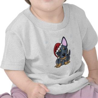 Christmas Kawaii Blue Heeler Baby's T-shirts