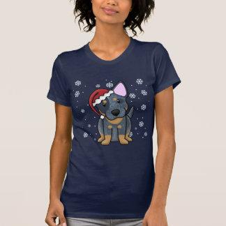 Christmas Kawaii Blue Heeler Ladies' Tees