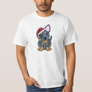 Christmas Kawaii Blue Heeler T-Shirt