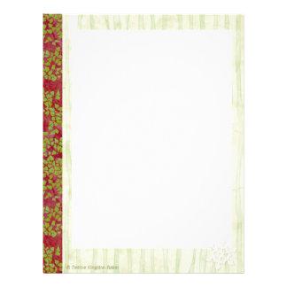 Christmas Keepsake Binder Pages Custom Letterhead