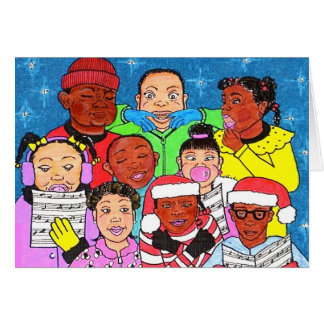 Christmas Kids Greeting Card