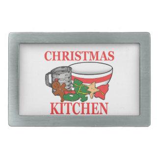 christmas kitchen belt buckle