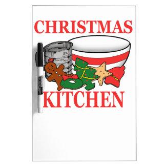 christmas kitchen Dry-Erase whiteboards
