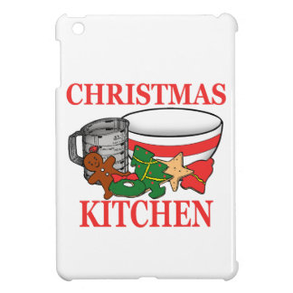 christmas kitchen iPad mini cover