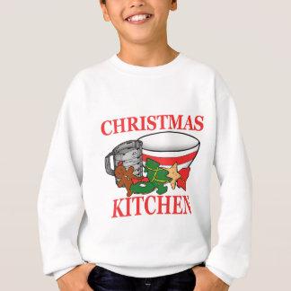 christmas kitchen sweatshirt