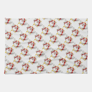 Christmas Kitchen Towel/Santa Hand Towels