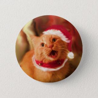Christmas Kitties 1 2 Inch Round Button