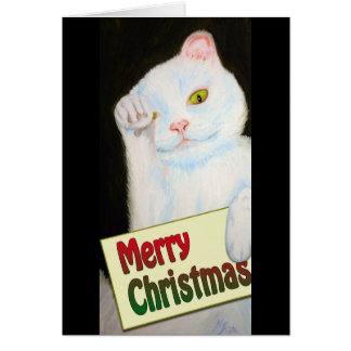 Christmas Kitty Card