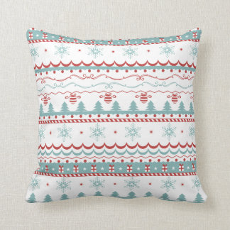christmas knitted jumper sweater cushion pillow