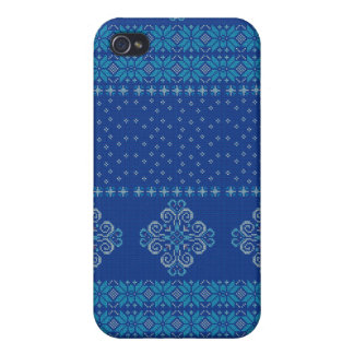 Christmas knitted pattern cases for iPhone 4
