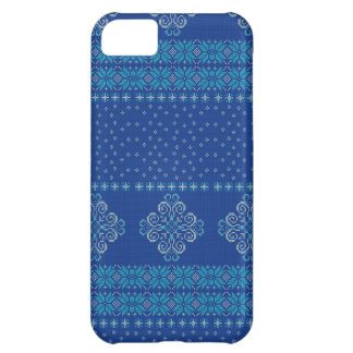 Christmas knitted pattern cover for iPhone 5C