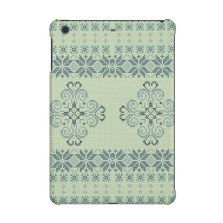 Christmas knitted pattern iPad mini retina cases