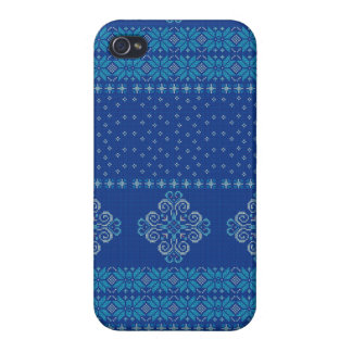 Christmas knitted pattern iPhone 4 cover