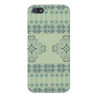 Christmas knitted pattern iPhone 5/5S cover