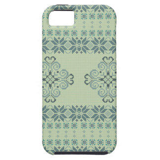 Christmas knitted pattern iPhone 5 covers