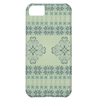 Christmas knitted pattern iPhone 5C cases