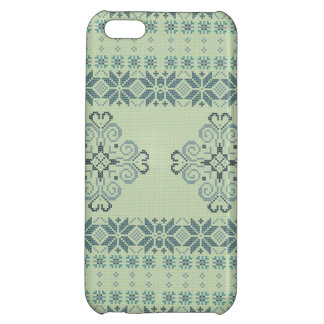 Christmas knitted pattern iPhone 5C cover