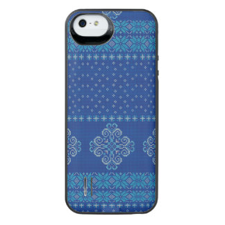 Christmas knitted pattern iPhone SE/5/5s battery case