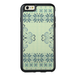 Christmas knitted pattern OtterBox iPhone 6/6s plus case