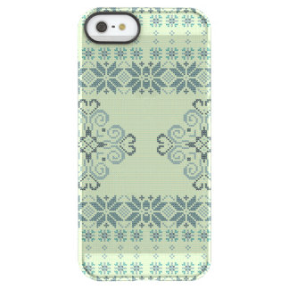 Christmas knitted pattern permafrost® iPhone SE/5/5s case