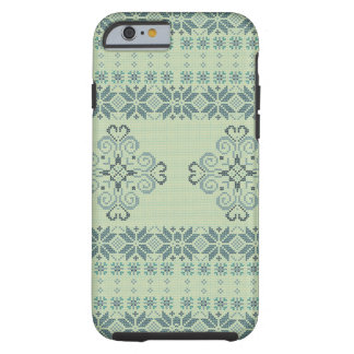 Christmas knitted pattern tough iPhone 6 case