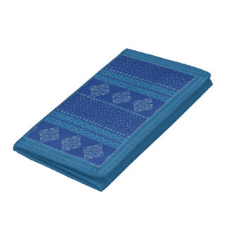 Christmas knitted pattern trifold wallets