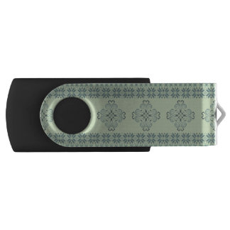Christmas knitted pattern USB flash drive