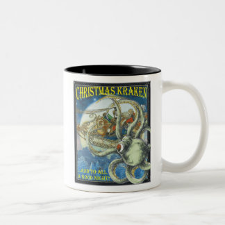Christmas Kraken Mug