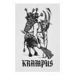 Christmas Krampus Poster