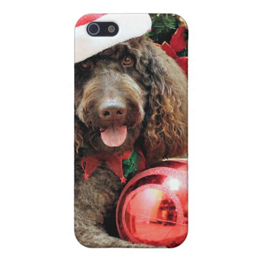 Christmas - LabraDoodle - Harley Covers For iPhone 5