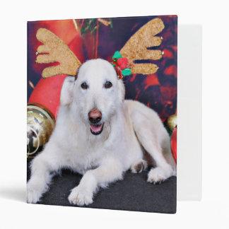 Christmas - LabraDoodle - Izzy Binder