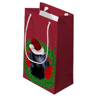 Christmas Labrador Retriever gift bag