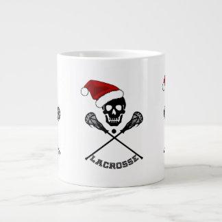 Christmas Lacrosse Sticks Jumbo Mug