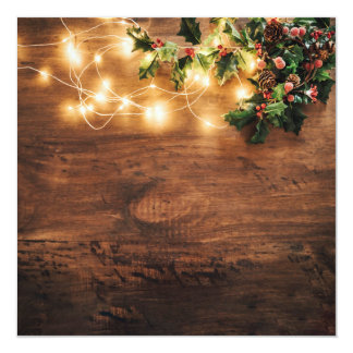 Christmas Lamps Card
