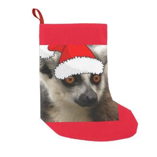 Christmas Lemur Small Christmas Stocking