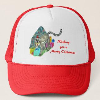 Christmas Lemur Trucker Hat