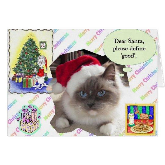 Christmas Letter Card