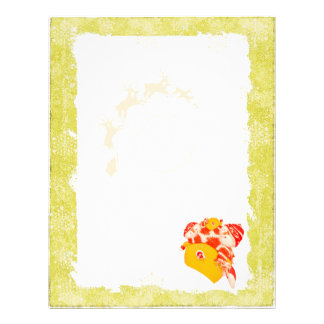 Christmas Letterhead Mustard