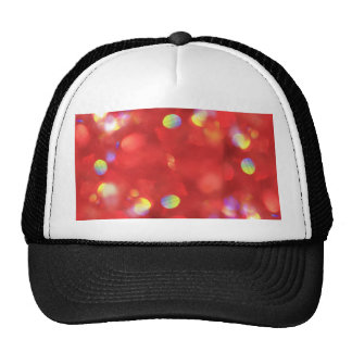 Christmas Light Bokeh Trucker Hat