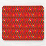 Christmas Light Pattern Red