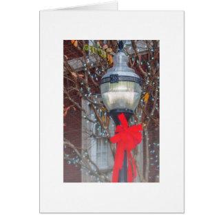 Christmas Light Post Card