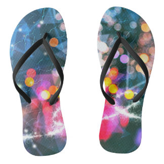 Christmas Lights 2016 Flip Flops
