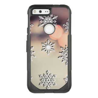Christmas Lights and Snowflake OtterBox Commuter Google Pixel Case
