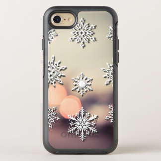 Christmas Lights and Snowflake OtterBox Symmetry iPhone 8/7 Case