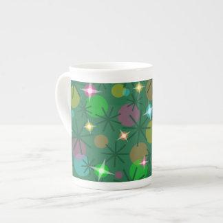 Christmas Lights bone china mug