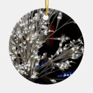 Christmas Lights Ceramic Ornament
