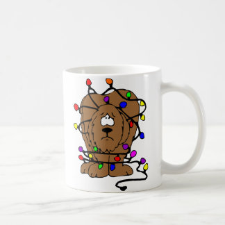 Christmas Lights Disaster Coffee Mug
