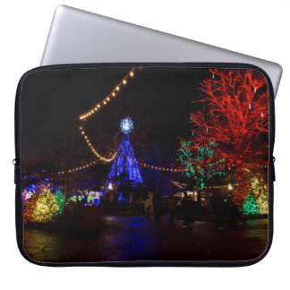 Christmas Lights Galore Laptop Sleeve