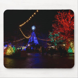 Christmas Lights Galore Mouse Pad